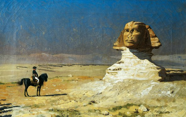 General Bonaparte in Egypt by Jean-Leon Gerome (1824-1904). Credit: DeAgostini/Getty Images