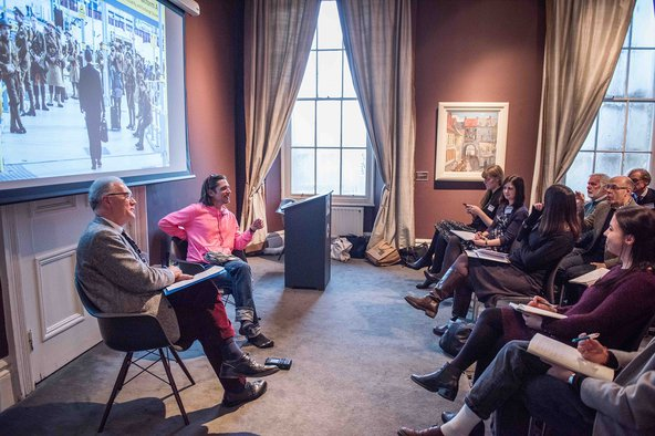 Artist Jeremy Deller discusses his Somme centenary project,