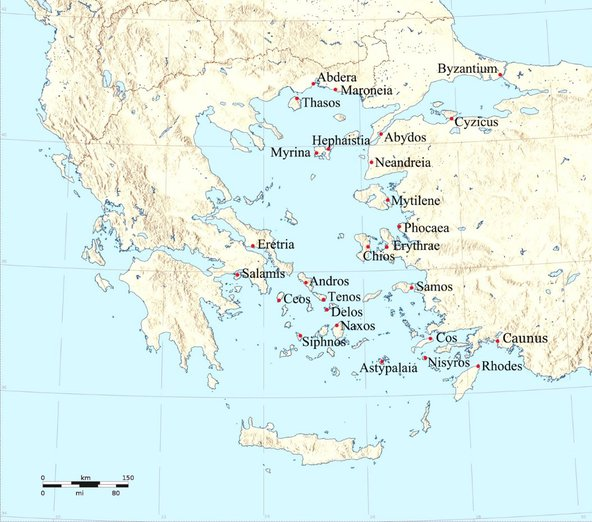 Athenian Empire, fifth century BC