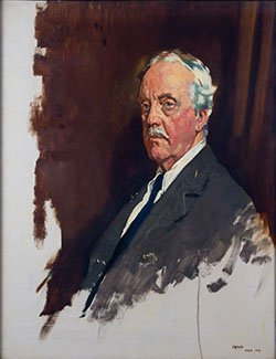 Portrait of Lord Balfour by Sir William Orpen (BAR 21)