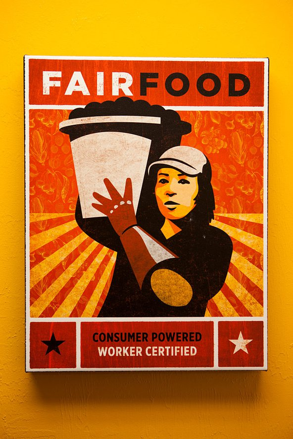 A poster for the Florida Fair Food Program