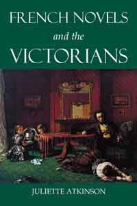 French Novels and the Victorians - book jacket