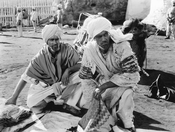 Gary Cooper and Franchot Tone in blackface in the popular Lives of a Bengal Lancer (1935) Alamy/Entertainment Pictures.