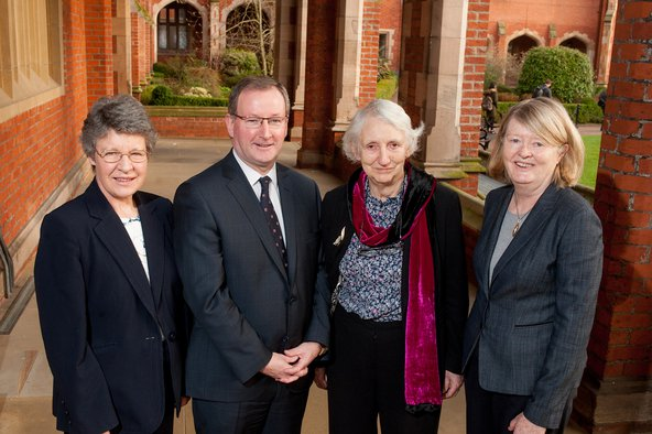 Professor Dame Jocelyn Bell Burnell, Professor Patrick Johnston, Baroness O