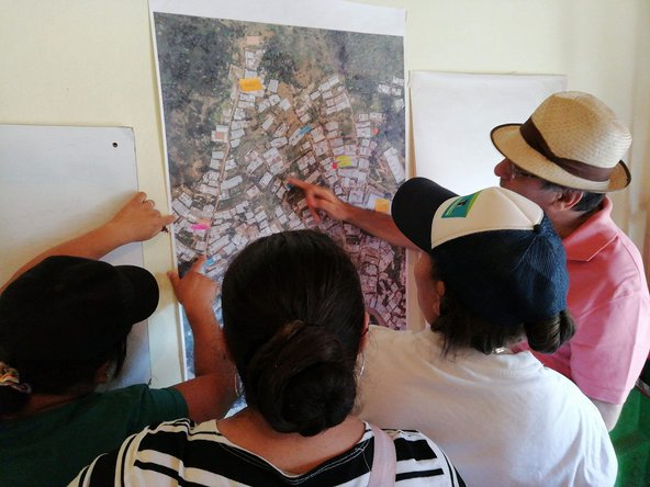 Participatory mapping in Carpinelo 2
