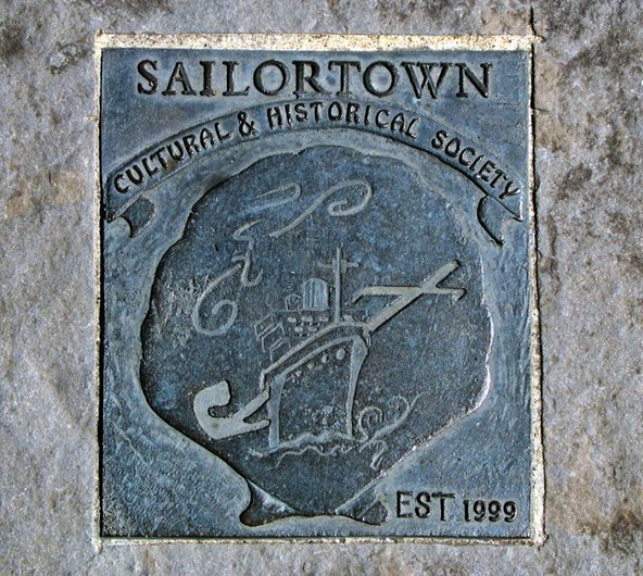 Sailortown plaque, Belfast