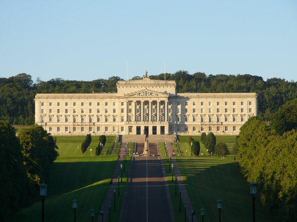 Parliament Buildings in Belfast, seat of the Northern Ireland Assembly