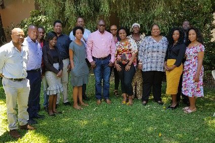 Participants at the early childhood development meeting in Harare