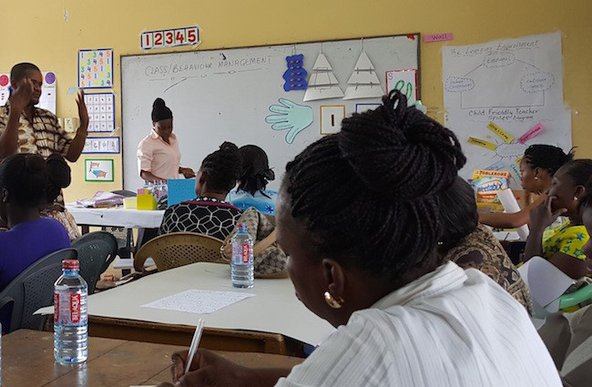 Teacher training in Ghana